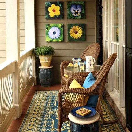 Balcony; Small Balcony; Balcony Apartmen; Terrace; Furniture; DIY; Warm Home; Sunshine Garden; Plant Decoration; Hammock; Storage; Recreation Area; Play Area;Room Decoration; Architecture;Balcony Railing;Balcony Inspiration