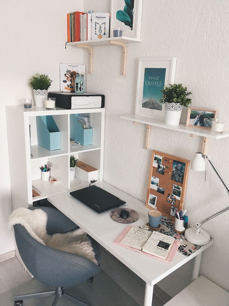 Study Room Decor: 49 HOME OFFICE DESIGN IDEAS THAT WILL INSPIRE PRODUCTIVITY