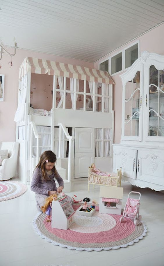 THESE BUNK BEDS WILL HAVE YOU WANTING TO TRADE ROOMS WITH THE KIDS!