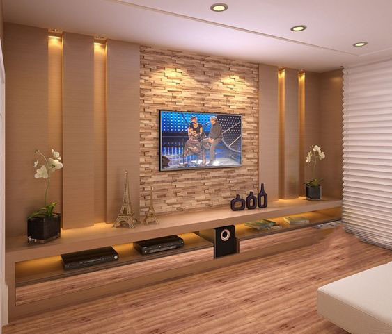 Ustom Design Tv Wall Tips For The Living Room Page 34 Of 56 Breyi